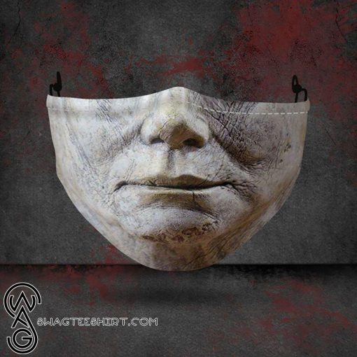 halloween michael myers all over printed face mask