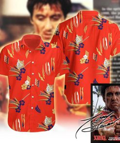 tropical antonio montana scarface hawaiian shirt 1