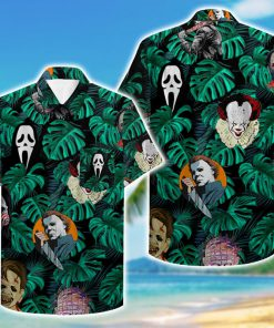 tropical horror movies killer hawaiian shirt 3