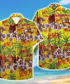 tropical slayer pattern hawaiian shirt 1
