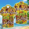 tropical slayer pattern hawaiian shirt