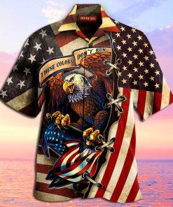 american eagle fly flag full printing hawaiian shirt 2