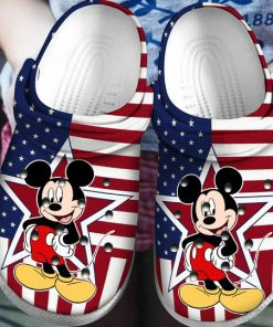 american flag mickey mouse crocs 1 - Copy (2)