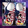 american flag mickey mouse crocs