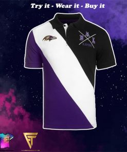 baltimore ravens national football league full over print shirt