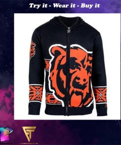 chicago bears nfl full over print shirt