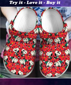 christmas snoopy crocs - Copy