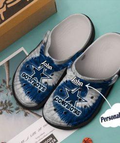 custom name dallas cowboys nfl crocs 1