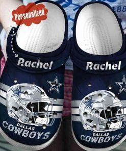 custom name national football league dallas cowboys helmet crocs 1 - Copy (2)