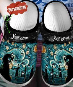 custom name starry night vincent van gogh crocs 1 - Copy