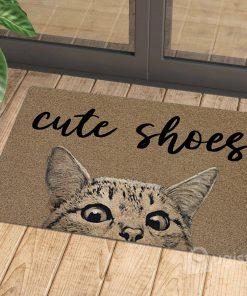cute shoes cat doormat 1 - Copy