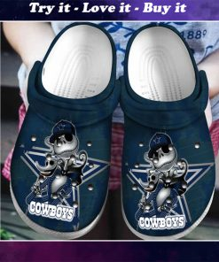 dallas cowboys jack skellington crocs