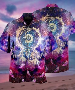 dreamcatcher galaxy full printing hawaiian shirt 1