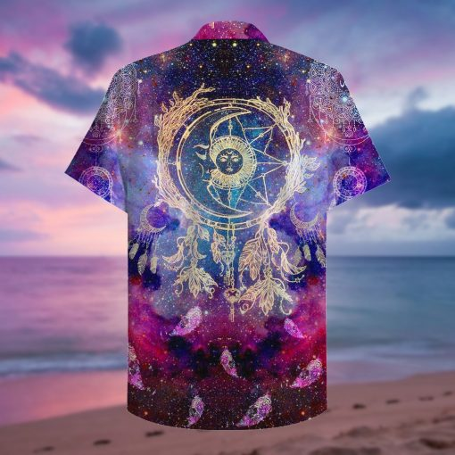 dreamcatcher galaxy full printing hawaiian shirt 2