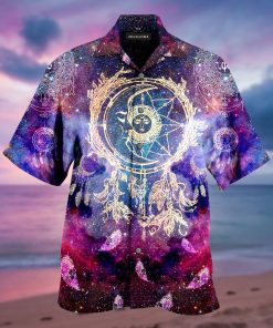 dreamcatcher galaxy full printing hawaiian shirt 3