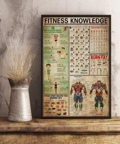 fitness knowledge retro poster 4