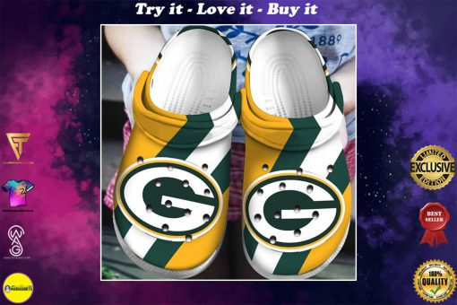 green bay packers football team crocs - Copy