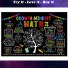 growth mindset tree math poster