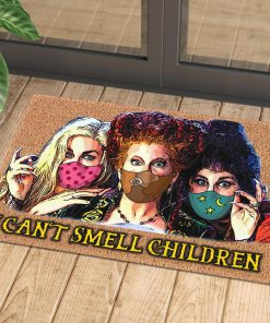 halloween hocus pocus with mask i cant smell children doormat 1 - Copy (2)