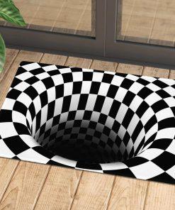 halloween illusion doormat 1 - Copy (2)