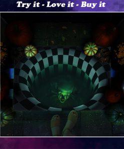 halloween it movie pennywise illusion doormat