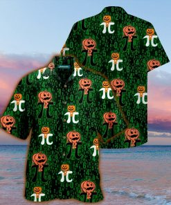 halloween pumpkin pi full printing hawaiian shirt 1