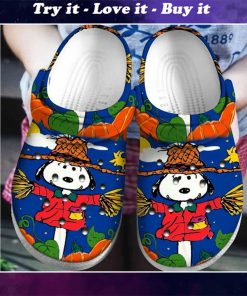 halloween snoopy crocs