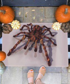 halloween spider all over printed doormat 1 - Copy (3)