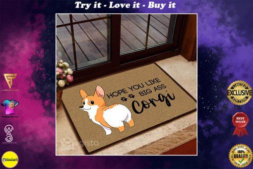 hope you like big ass corgi doormat