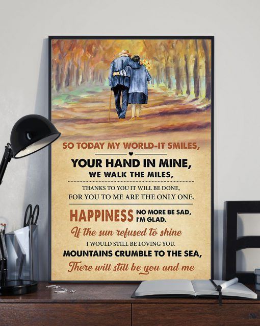led zeppelin thank you lyrics couple in love poster 2
