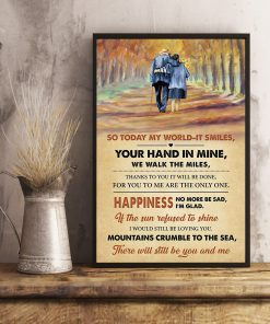 led zeppelin thank you lyrics couple in love poster 3