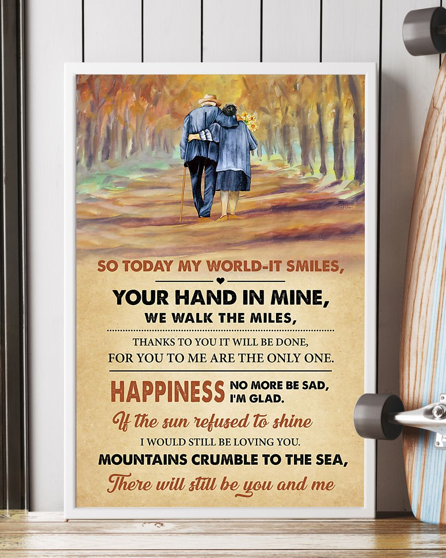 led zeppelin thank you lyrics couple in love poster 4