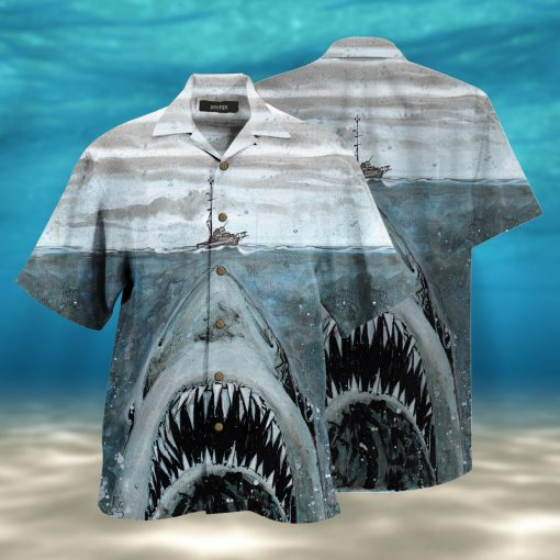 let shark kiss you full printing hawaiian shirt 1 - Copy