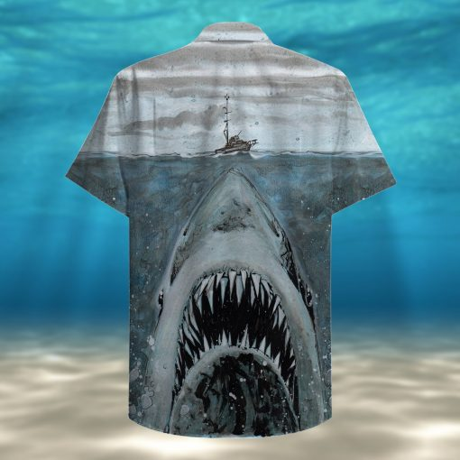 let shark kiss you full printing hawaiian shirt 3