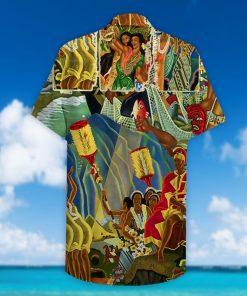 lets explore hawaii full printing hawaiian shirt 2