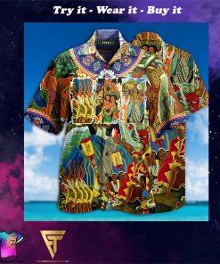 lets explore hawaii full printing hawaiian shirt