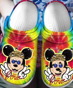 love mickey mouse tie dye crocs 1 - Copy