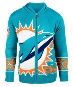 miami dolphins nfl full over print shirt 1