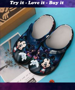 mickey mouse dracula crocs