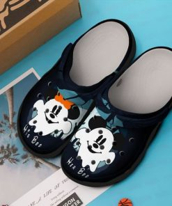 mickey mouse in halloween crocs 1