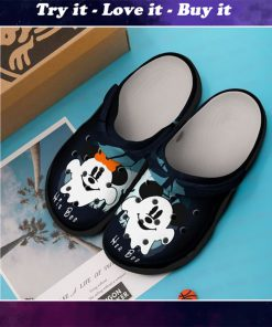 mickey mouse in halloween crocs