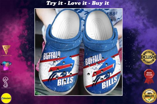national football league buffalo bills crocs