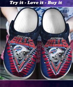 national football league buffalo bills helmet crocs