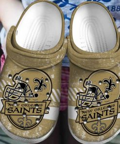 national football league new orleans saints helmet crocs 1