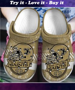 national football league new orleans saints helmet crocs - Copy
