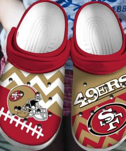 national football league san francisco 49ers helmet crocs 1 - Copy (2)