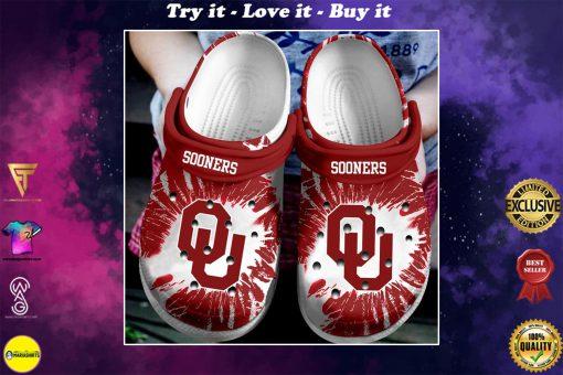 oklahoma sooners football team crocs - Copy