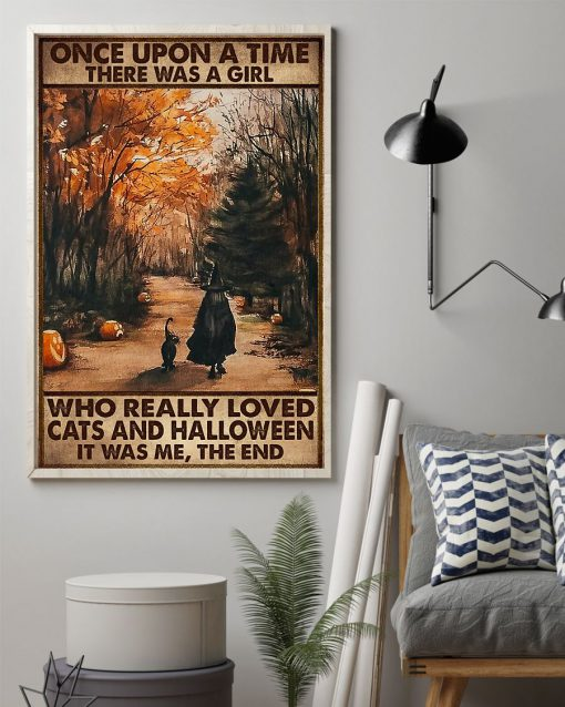 once upon a time there was a girl who really loved cats and halloween poster 2