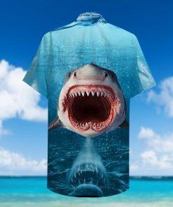 show your teeth shark full printing hawaiian shirt 3