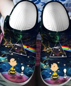 snoopy and charlie brown the dark side of the moon crocs 1